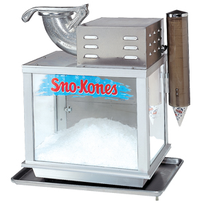 snowball machine rental